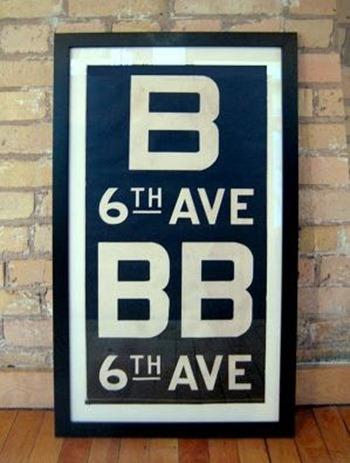 Subway sign 4