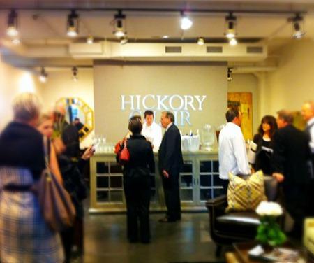 Hickory Chair showroom