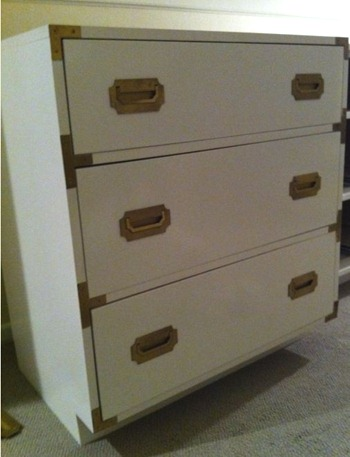 dressers finished